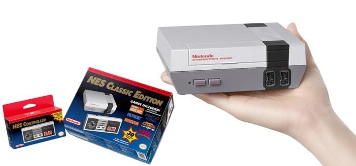 Nintendo anuncia Nes Classic Edition