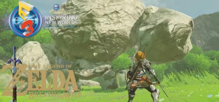 The Legend of Zelda - Breath of the Wild é eleito o melhor jogo da E3 2016