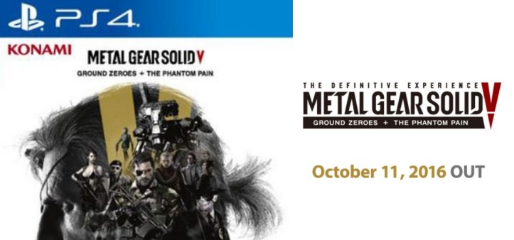 Anunciado Metal Gear Solid V - Definitive Experience
