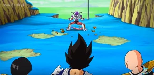 Freeza Vs. Vegeta, Gohan e Kuririn (Dragon Ball Z - Ressurection F - Especial do Futuro do Trunks)