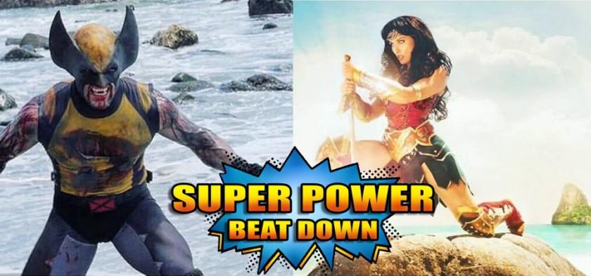 Mulher-Maravilha Vs. Wolverine em Primeiras fotos oficiais de Super Power Beat Down - Episódio 20