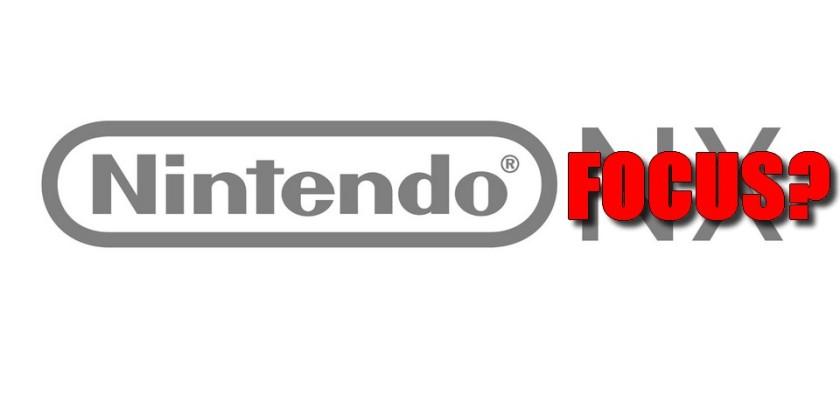Nintendo NX pode se chamar Nintendo Focus