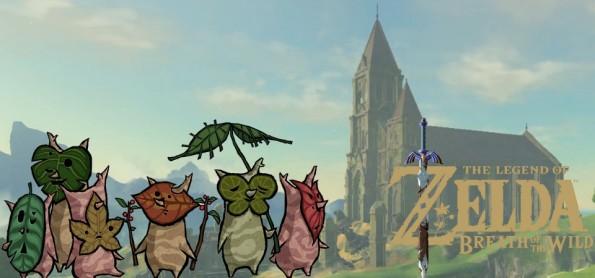 The Legend of Zelda - Breath of the Wild - Trailer do Temple of Time e dos Koroks