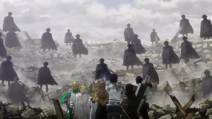 Aparecem os guerreiros de Kusha (Berserk 2016 - Episódio 12)