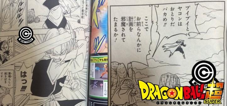 Black assassinou os Kaioshin e Trunks com Espada Z em Dragon Ball Super