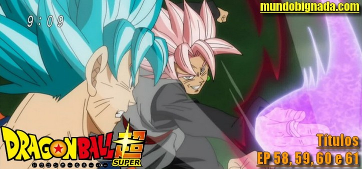 Dragon Ball Super - Sinopse e Título dos Episódios 58, 59, 60 e 61