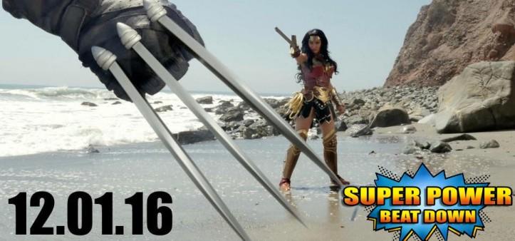 Episódio da Mulher-Maravilha Vs. Wolverine lança no dia 01 de dezembro no Super Power Beat Down