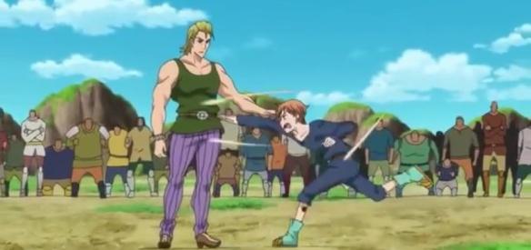 King Vs. Howser (Nanatsu no Taizai Seisen no Shirushi - Episódio 02)