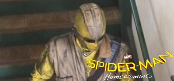 Saem primeiras fotos do Shocker em Spider-Man Homecoming