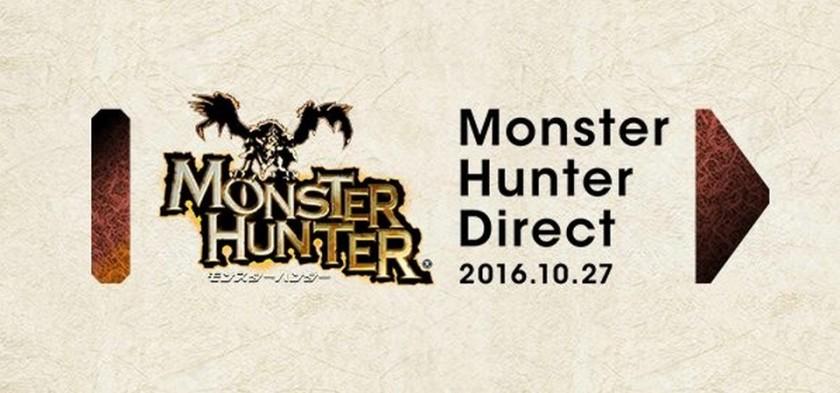 Anunciado Nintendo Direct focado em Monster Hunter para 27 10 2016