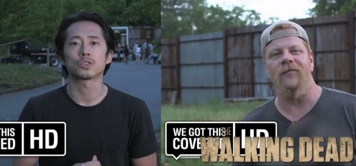 Glenn e Abraham ganham vídeos de despedida para os fãs de The Walking Dead