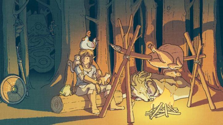 The Legend of Zelda - Breath of the Wild - Arte Oficial do Dia de Ação de Graças