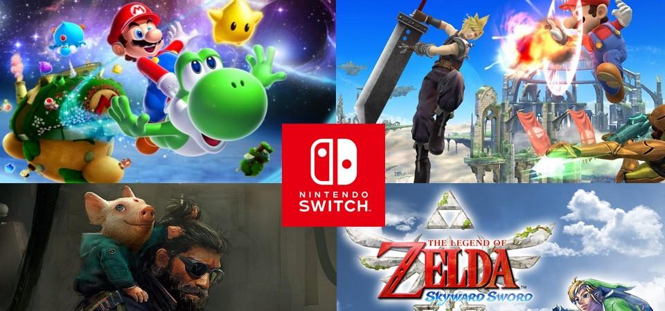 TOP 20 - Jogos que podem sair para Nintendo Switch segundo boatos, especulações e leaks