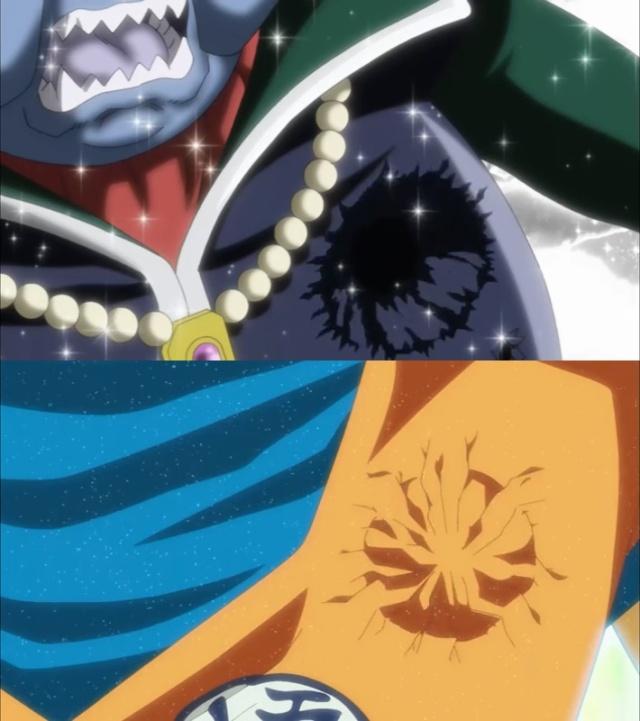 Hitto golpe coração e o tempo parado (Dragon Ball Super - Episódio 71)