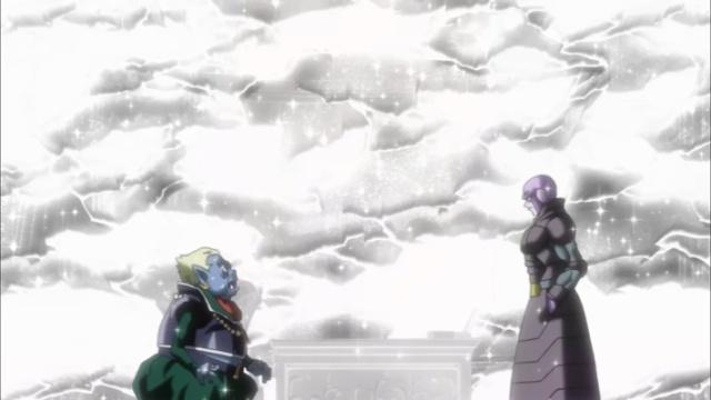 Hit para o tempo e mata o alienígena (Dragon Ball Super - Episódio 71)