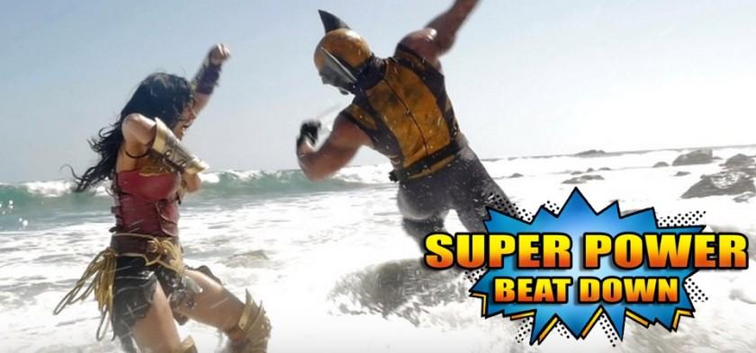 Mulher-Maravilha Vs. Wolverine - Super Power Beat Down - Episódio 20
