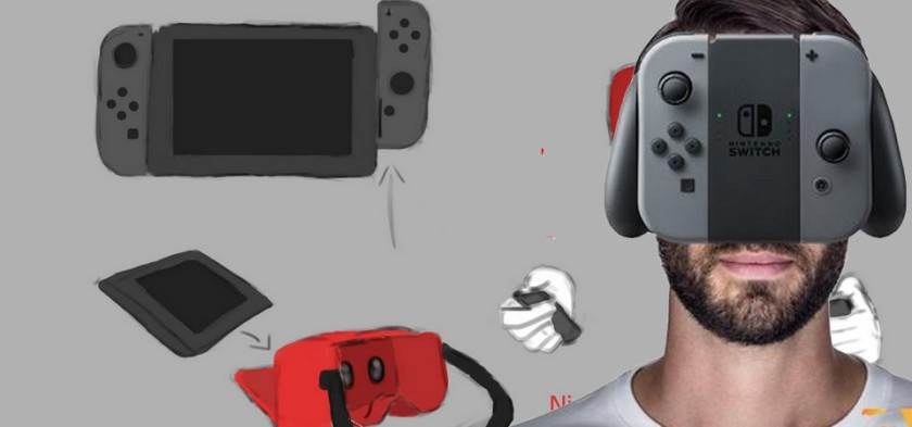 Nintendo Switch terá VR segundo OBE1plays