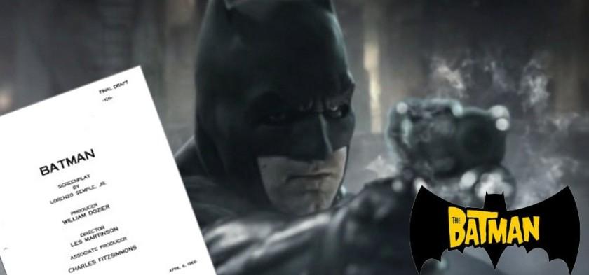 Ben Affleck diz que The Batman ainda não tem roteiro