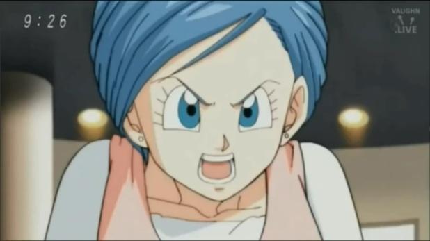 Bulma conta que está grávida a Vegeta (Dragon Ball Super - Episódio 77)