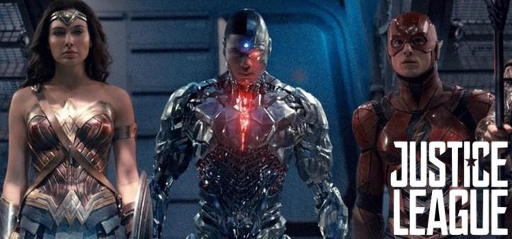 Ciborgue e Liga da Justiça em Primeira Foto Oficial