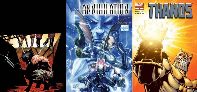Destaques do Porco-Aranha #1 - Logan, Aniquilação e Thanos