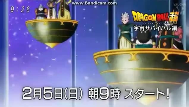 Dragon Ball Super - Deus da Destruição Estranho com Senhor Kaio e Kaioshin