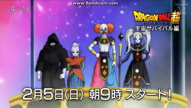 Dragon Ball Super - Deus da Destruição Coringa e Anjo Arlequina