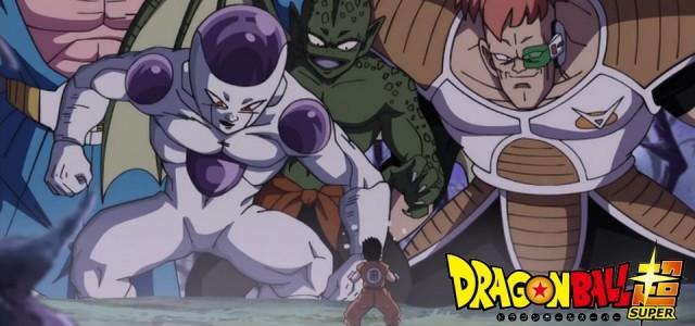 Dragon Ball Super - Goku e Kuririn Vs. Vilões nos Spoilers do Episódio 76