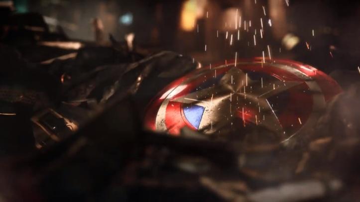 Escudo do Capitão América (Vingadores da Square Enix)