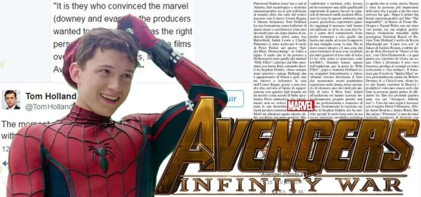 Homem-Aranha confirmado em Vingadores - Guerra Infinita
