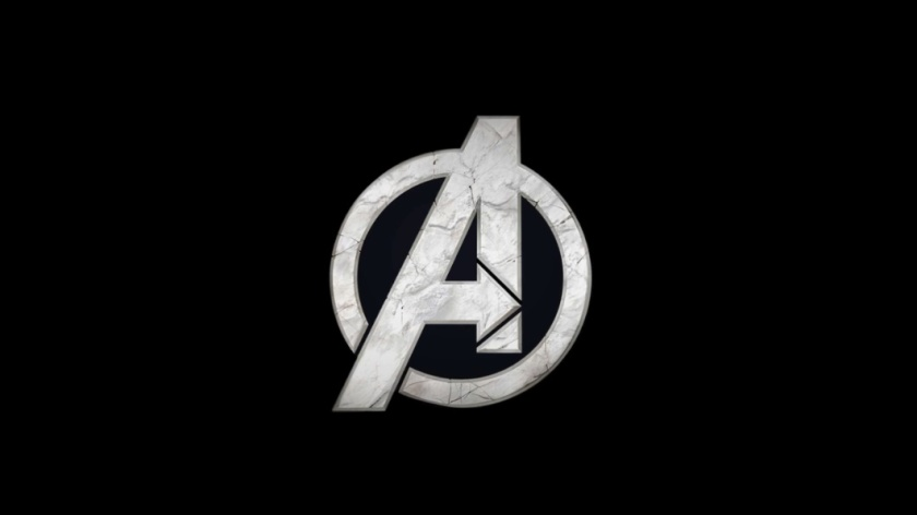 Logo do Vingadores da Square Enix