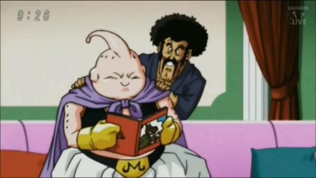 Majin e Mr. Satan (Dragon Ball Super - Episódio 77)