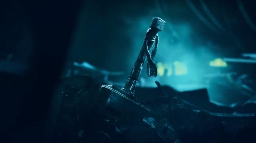 Mjolnir do Thor (Vingadores da Square Enix)