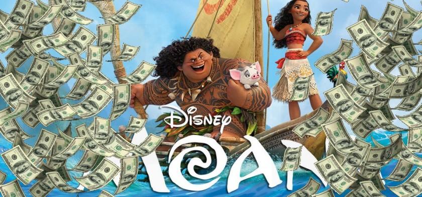Moana é a maior bilheteria de estreia de uma animação no Brasil