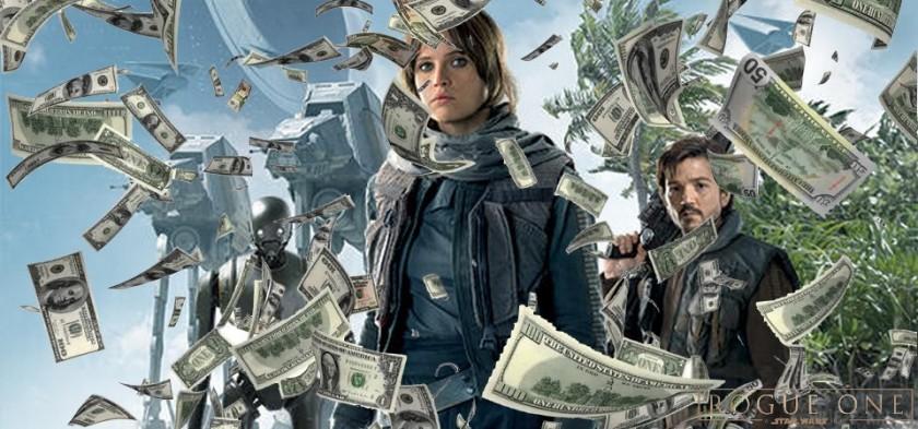 Rogue One - Uma História Star Wars ultrapassa 1 bilhão de dólares de bilheteria