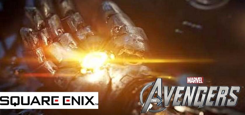 Square Enix anuncia jogo do Vingadores
