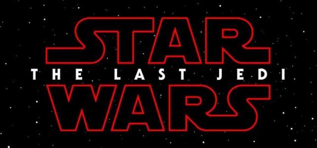Star Wars - The Last Jedi é o título oficial do Episódio VIII