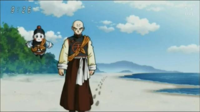 Tenshinhan e Chaos de volta (Dragon Ball Super - Episódio 77)