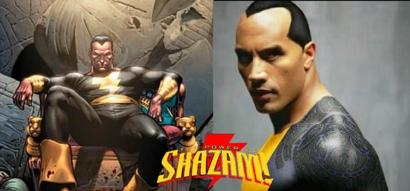 The Rock será Adão Negro em filme solo de Shazam