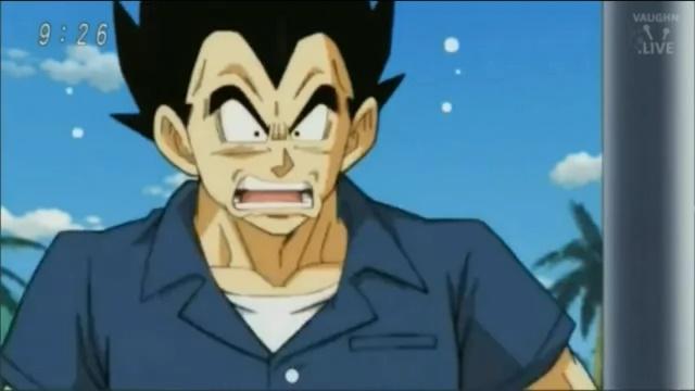 Vegeta descobre a gravidez de Bulma (Dragon Ball Super - Episódio 77)