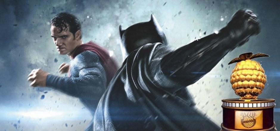 Batman Vs. Superman é eleito pior filme do ano no Framboesa de Ouro 2017