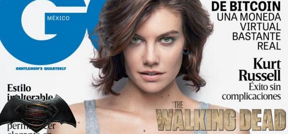Lauren Cohan, a Maggie de The Walking Dead e Martha de Batman Vs. Superman, posa na revista GQ
