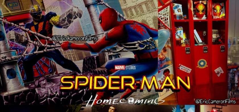 Shocker aparece em Artwork de Merchandising de Spider-Man Homecoming