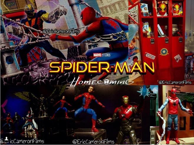 Shocker em Merchandising Artwork - Spider-Man Homecoming