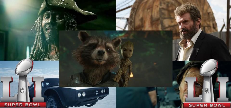 Superbowl 2017 - Mega Post dos Trailers