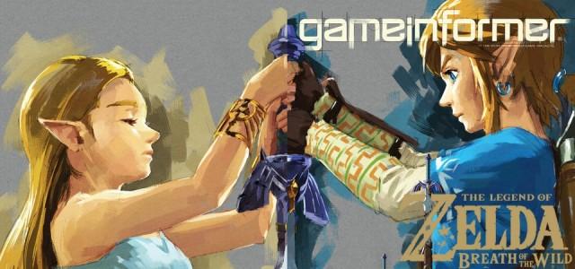 The Legend of Zelda - Breath of the Wild - Novo Gameplay e Nova Arte do jogo