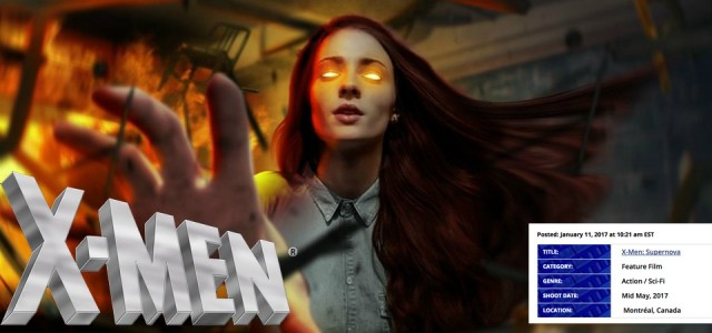 X-Men - Supernova - Vaza Título e Sinopse do novo filme