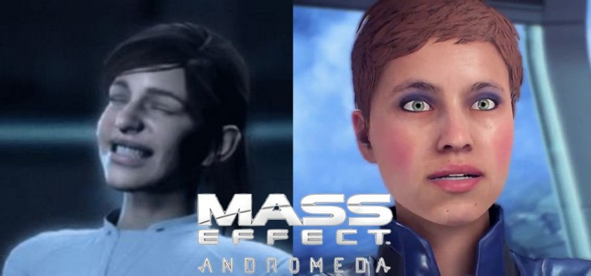 Mega Post com Bad Animation de Mass Effect Andromeda