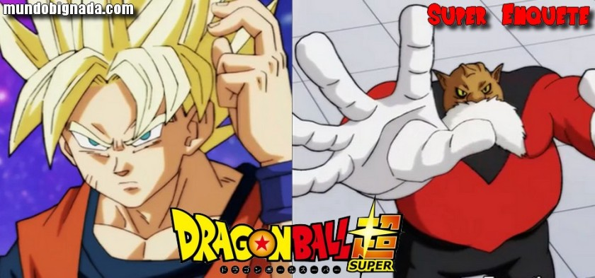 Super Enquete - Goku Vs. Toppo