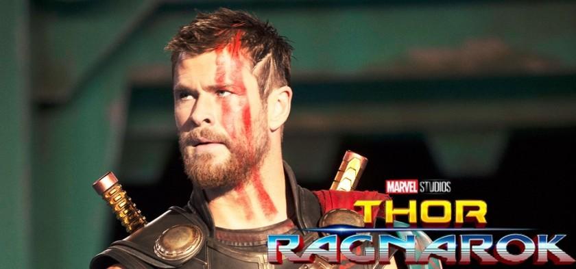 Thor gladiador, Grão Mestre, Hella, Valquíria em diversas fotos de Thor Ragnarok